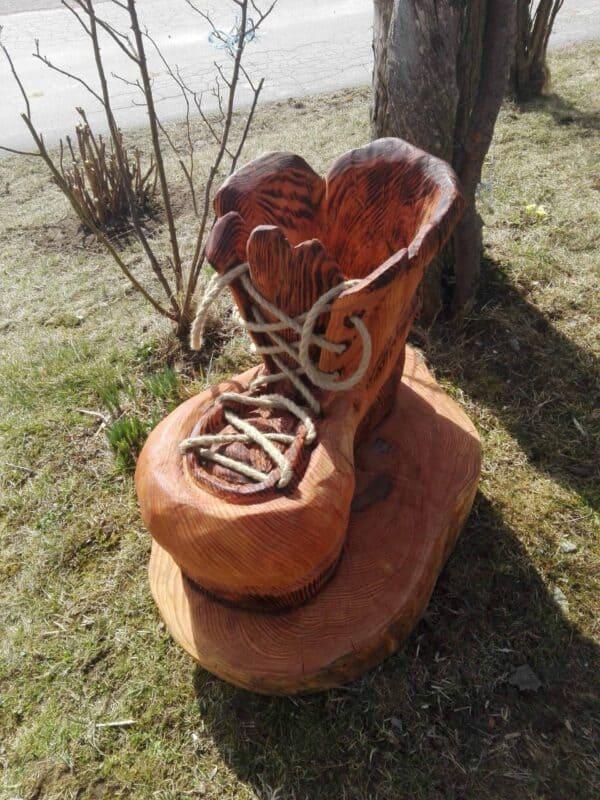 Izdelki iz lesa, okrasni čevelj